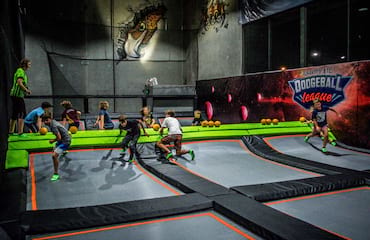 Trampoline Dodgeball League (Dalyellup)
