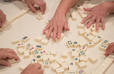 Mahjong for experienced players (East Fremantle)