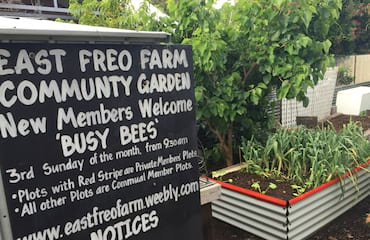 East Freo Farm Community Garden