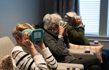 Virtual Reality for Seniors living with Dementia (Clarkson)